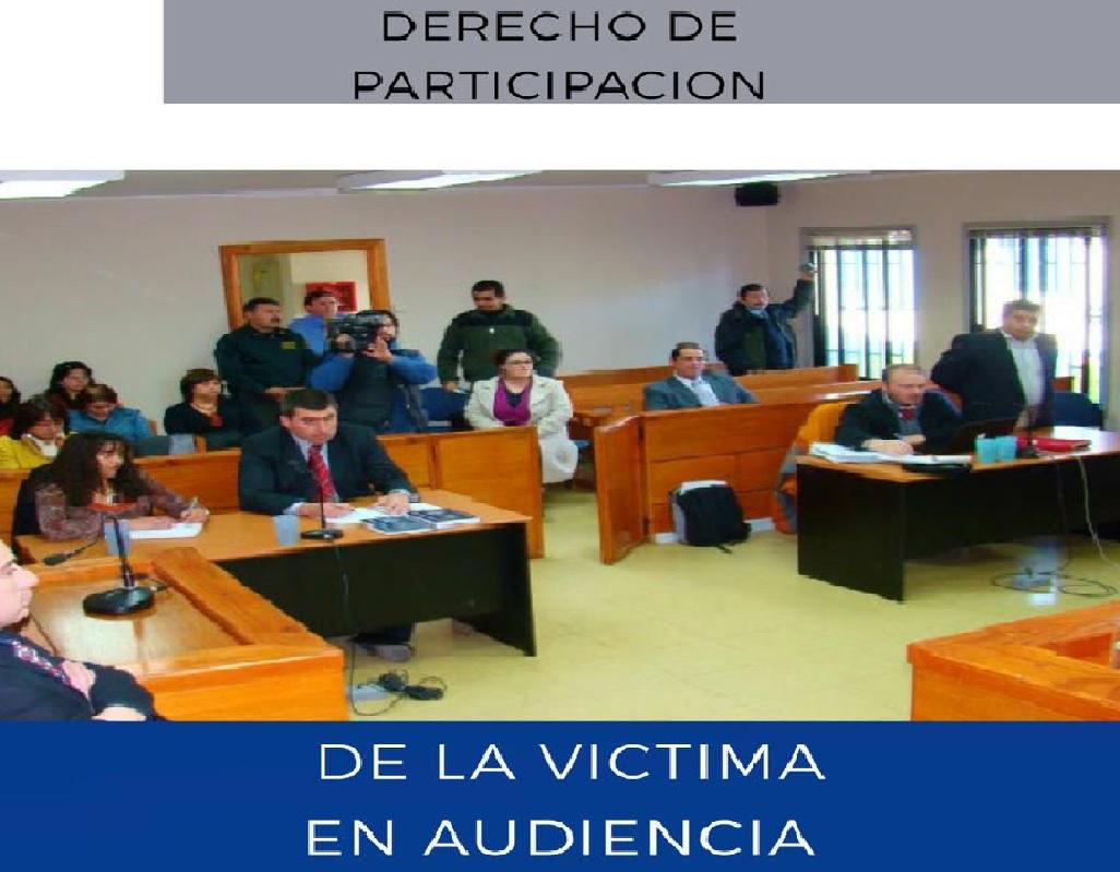 victima y audiencia